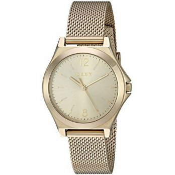 [macyskorea] DKNY Womens Quartz Stainless Steel Automatic Watch, Color:Gold-Toned (Model: /15241140