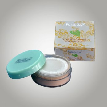 Kosmetik Asli (09142) Pureglow Loose Powder For Anti Acne [20 gr]