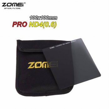 [globalbuy] Zomei 100mm Square Filter ND4 Pro Optical Glass 100x100mm 2-stop ND0.6 ND Filt/3687453