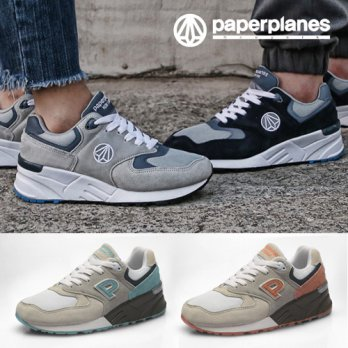 [Paperplanes] Korean Style Men Women Unisex Sneakers Running Shoes Couple Shoes Casual Shoes Made in Korea PP1417