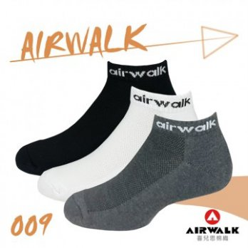 [AIRWALK] Xier Think Cotton Lycra Socks Towel Bottom Hull - XL (3 Colors) Eight Pairs A Group A