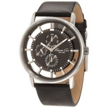 [macyskorea] Kenneth Cole New York Mens KC1853 Stainless Steel Watch with Leather Strap/13378622