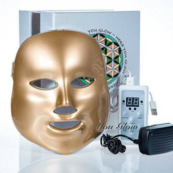 [macyskorea] You Glow LED Photon Therapy Light Treatment Facial Skin Care Mask Red Green B/15925481
