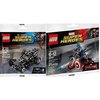 [macyskorea] LEGO Lego Super Heroes Batman Batmobile (30446) + Captain America Motorcycle /16124745