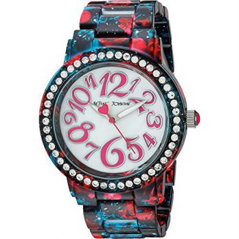 [macyskorea] Betsey Johnson Womens Quartz Stainless Steel and Alloy Casual WatchMulti Colo/13677766