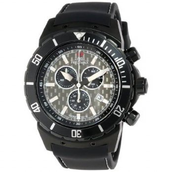 [macyskorea] Swiss Precimax Mens SP13283 Pursuit Pro Sport Grey Dial with Black Silicone B/12692105