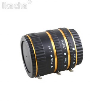 [globalbuy] Metal AF Auto Focus Macro Extension Tube/Ring For CANON EOS EF-S 5D 5D2 High Q/3687367