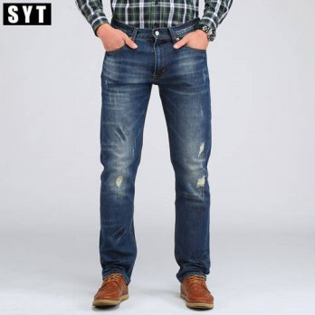 [globalbuy] 2016 SYT New Mens Casual Jean Slim Regular Fit Nice Cutting Perfect Details Pl/4201964