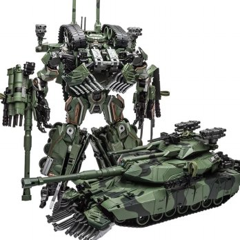 Robot Transformers Brawl - WeiJiang Armed Cannon Leader Class (W8096)