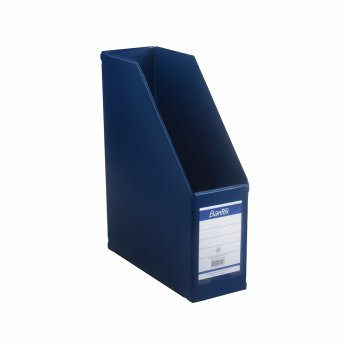 Bantex Magazine File (Box File) 10cm Folio Blue #4011 01