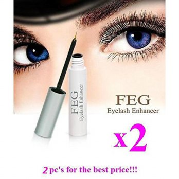 [macyskorea] 2 X BEST FEG Eyelash enhancer. The most powerful eyelash growth Serum 100 Nat/10138725