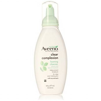 [macyskorea] Aveeno Clear Complexion Foaming Cleanser, 6 Ounce (Pack of 3)/15423291
