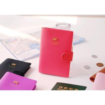 bdo031 cover passport kulit pita leather ribbon passport cover travel