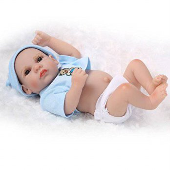 [macyskorea] NPK 10 Inch Handmade Twin Little Peanut Baby Dolls Lifelike Full Silicone New/15226519