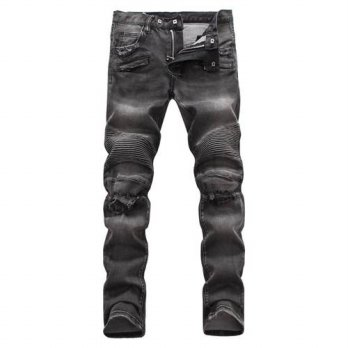 [globalbuy] Bicycle man 2016 new designer jeans fit jeans men high quality hip hop jeans r/4201330