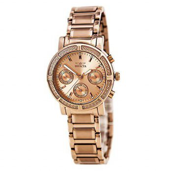 [macyskorea] Invicta Womens 14874 Wildflower Rose Gold Dial 18k Rose Gold Ion-Plated Stain/14047342
