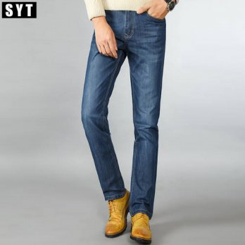 [globalbuy] SYT New Arrival Mens Casual Business Perfect Washed Jeans Regular Straight fit/4201243