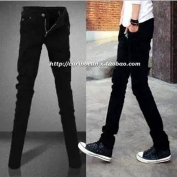 [globalbuy] new arrival spring and summer pants male trousers Vintage skinny pants thin el/4201241