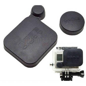 [globalbuy] 2pcs/1set GoPro Hero 3 Lens Cap Protector Cover Set / Kit - Housing & Camera C/3686773
