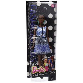 [macyskorea] Barbie Fashionistas Doll 25 Blue Brocade - Petite/13993789