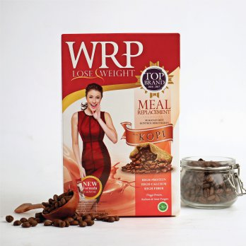 [POP UP PASAR IDEA] WRP MEAL REPLACEMENT COFFEE 324G (6 Sachet)