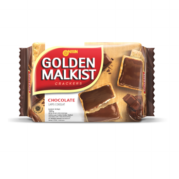 Nissin Golden Malkist Crackers Chocolate 120gr