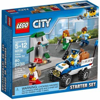 LEGO CITY 60136 - Police Starter Set