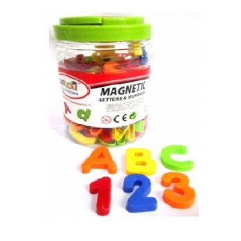 First Classroom Magnetic Letter & Number Toples Kecil