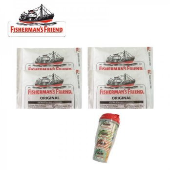 Fisherman'S Friend Original 25gr Bundle 4 Free Tumbler