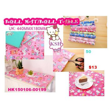 ROLL TABLE HELLO KITTY