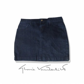 Branded denim mini skirts / rok jeans mini