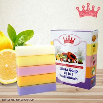 Gluta Fruitamin Soap