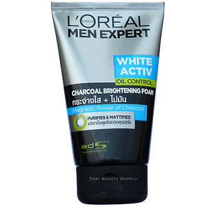 L'Oreal Paris Men Expert White Activ Oil Control Charcoal Bright 100ml