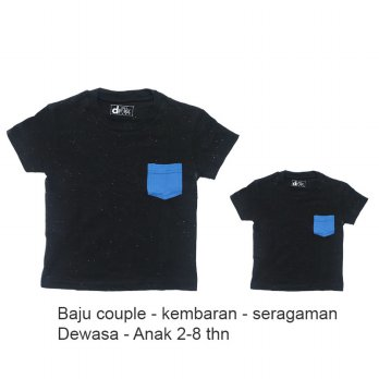 Saneoo Couple Father and Son T-shirt