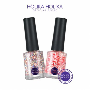 (1+2) Holika Holika Glitter Nails 2015 Collection