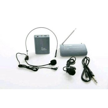 Mic Wireless Ceer SC 600 (Headset + Clip on)