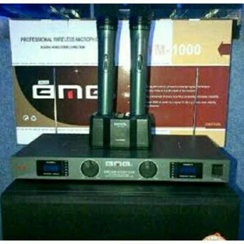 MIC / MICROPHONE WIRELESS BMB WH 1000 (CHARGER DESKOP)