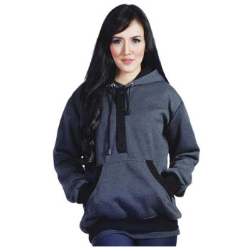JAVA SEVEN | SWEATER FLEECE WANITA - DED 618