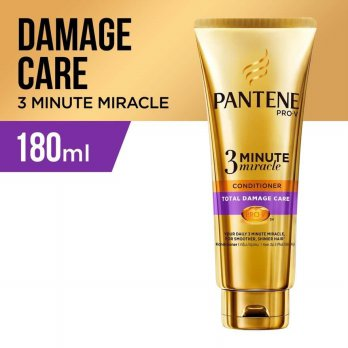 PANTENE 3 Minute Miracle Conditioner Total Damage Care 180ml