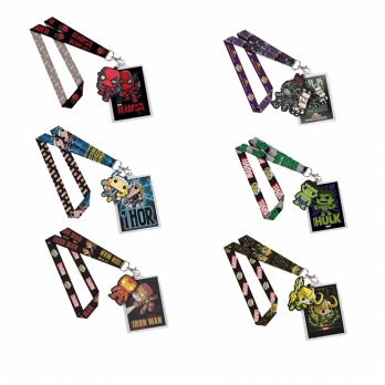 Funko POP Lanyard Marvel