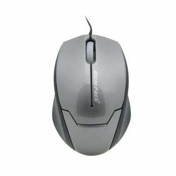 Mouse Double Lens MicroPack MP-Y279R Grey + Mouse Pad