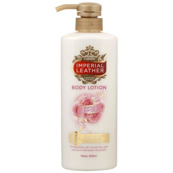 IMPERIAL LEATHER Softly Body Lotion 400ml