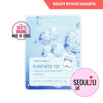 Tonymoly Pureness 100 Mask Sheet Hyaluronic Acid
