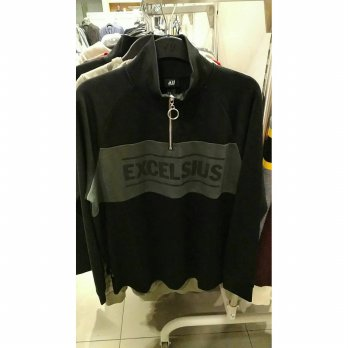 (Promo Gajian) H&M Sweater Jacket Jaket Outware Excelsius