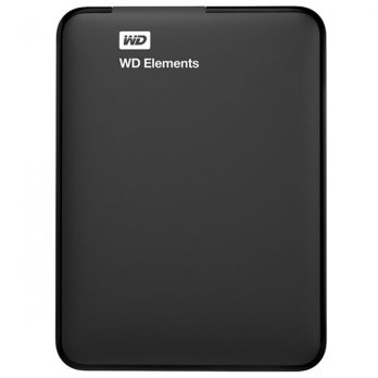 WD Elements Portable - 500GB - USB 3.0 - Hitam