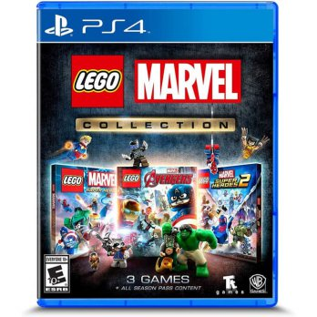 PS4 LEGO Marvel Collection 3 Games All Season Pass Reg 1 USA