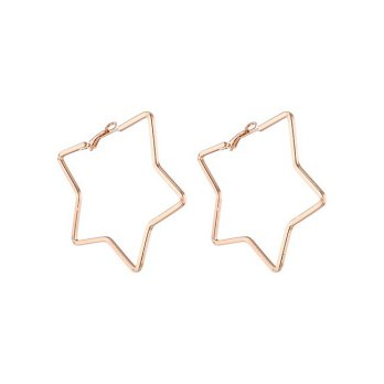 [Wholesale-Acc] Anting Hoops Gold 4 Model