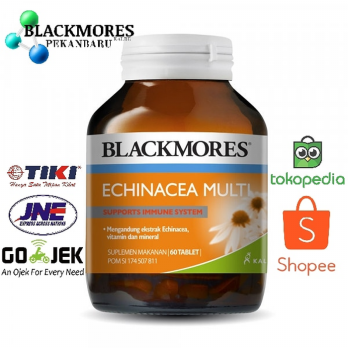 Blackmores Echinacea Multi Suplemen - Isi 60 Tablets