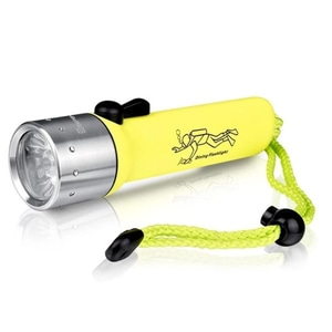 Senter Flashlight For Diving Cree 3W Led Senter selam Anti Air