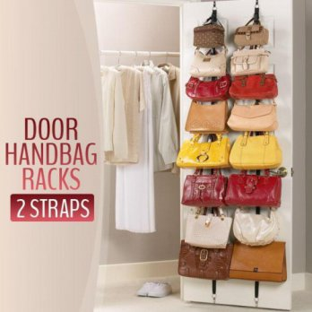 Adjustable Bag Rack Organizer As Seen On TV (Gantungan Tas)